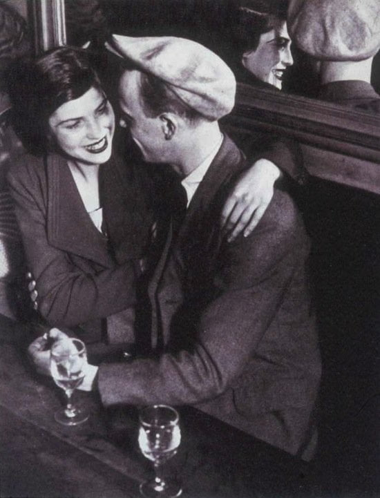 Brassaï, Couple at Quatre Saisons, rue de Lappe,1932