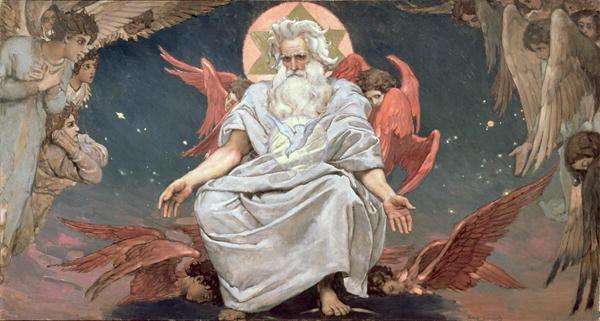 Dumnezeu, pictură renascentistă