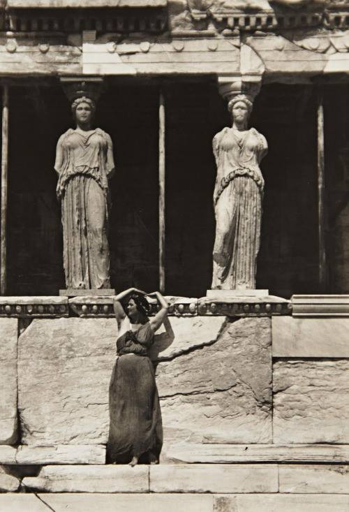 Isadora Duncan in Grece 1920