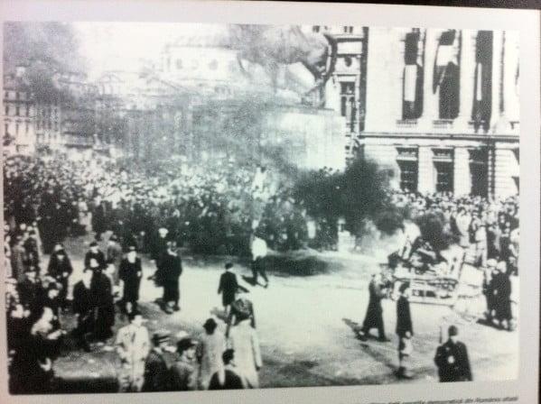 Manifestatie-pentru-Regele-Mihai-8-noiembrie-19451