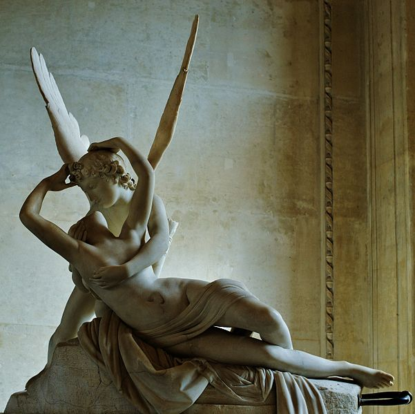 Psyche_revived by the kiss of Love_Louvre_MR1777 Antonio Canova