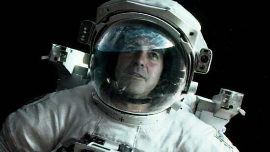 2 Gravity George Clooney
