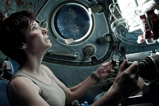 3 Gravity Sandra Bullock