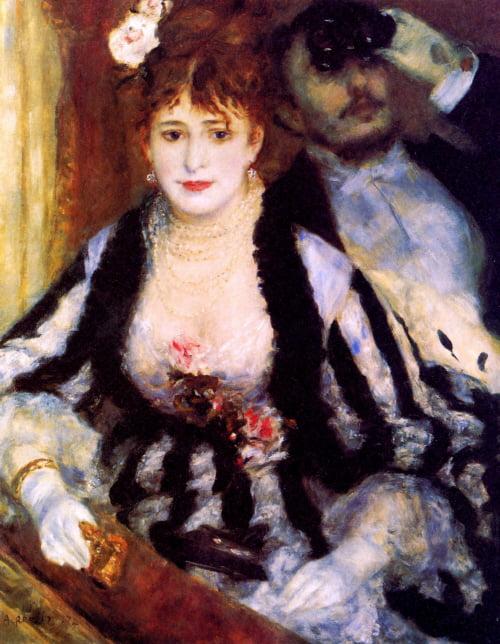 4.Auguste Renoir - the-box-1874