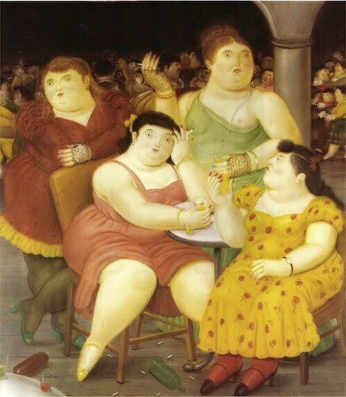Fernando Botero Four Women