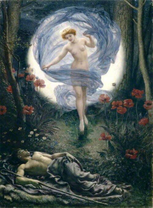 Edward-Poynter-Diana-and-Endymion1901