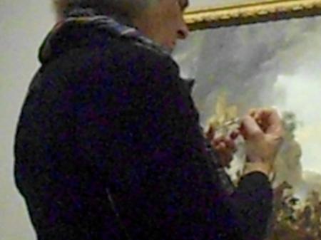 doamna cu unghiera