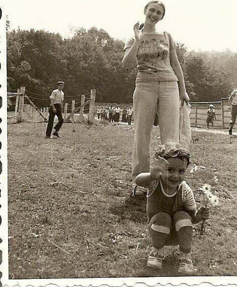 Anca și mama