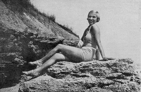 Leny Caler, 1933