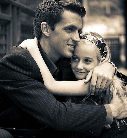 tată fiică