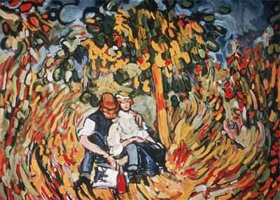 Maurice de Vlaminck, 1905, Outing in the Country