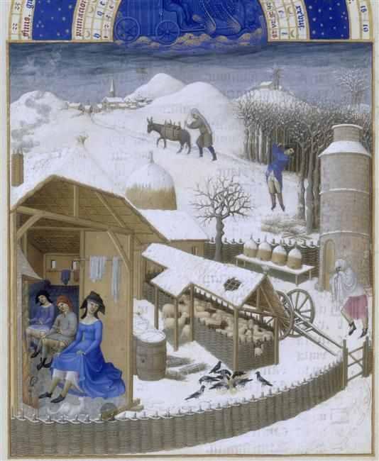Les Très Riches Heures du Duc de Berry, 1412