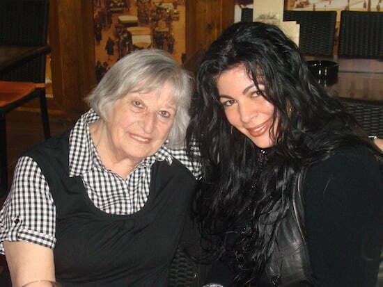 Nora Iuga si Angela Baciu,Bucuresti 2011