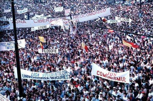 foto emanuel parvu piața universității 90