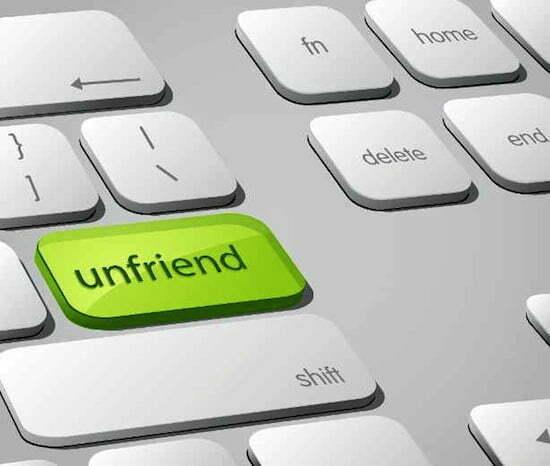 unfriend