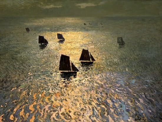 Ritschel, William- Boats Returning Home