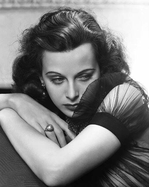 Hedy Lamarr, photo by George Hurrell
