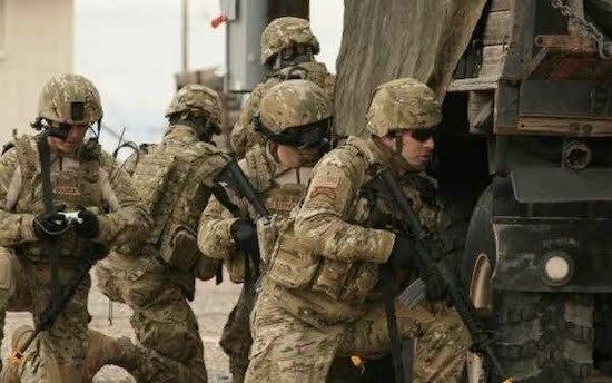 americani în Irak