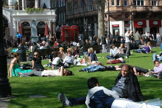 londra - leicester square