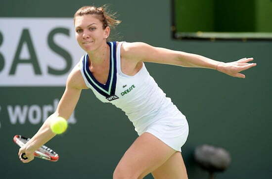Tennis: BNP Paribas Open-Halep v Bouchard