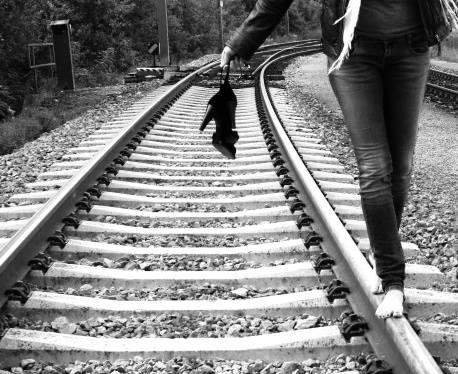 oameni și trenuri