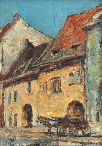 Gheorghe Petrascu, Case din Sighisoara