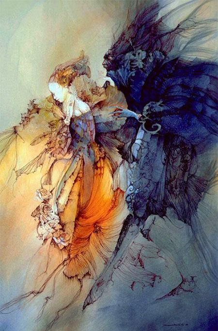 Beauty and the Beast by Anne Bachelier