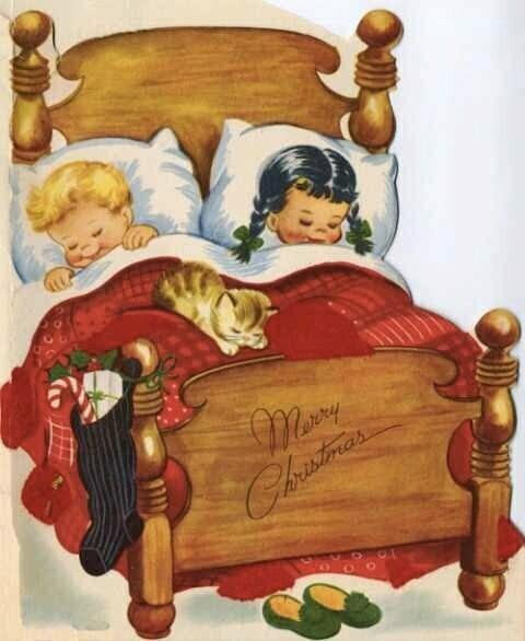craciun-fericit-fericitari-copii-vintage