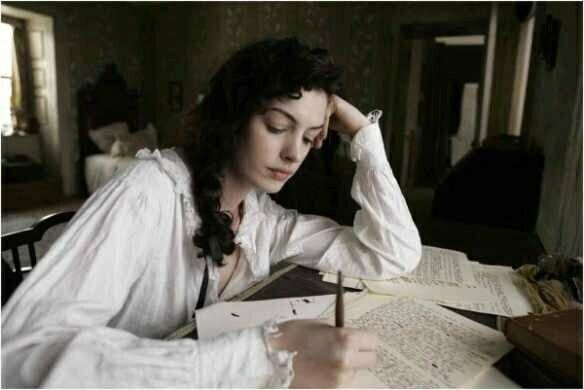 femeie scris