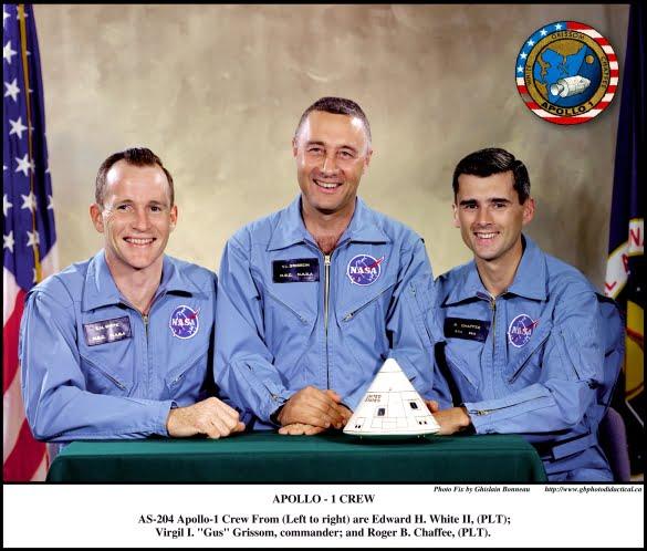 AS-204-CREW-Apollo-1-1967-01-27