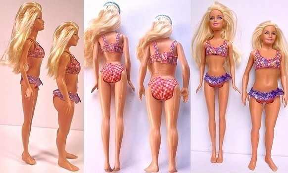 Barbie normoponderală