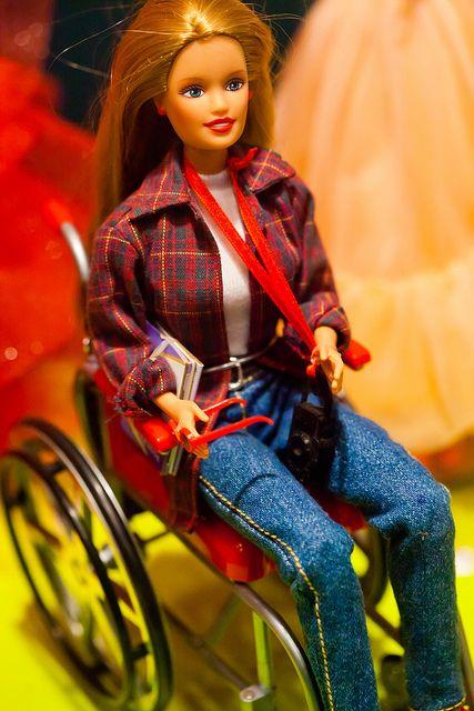 Barbie weelchair