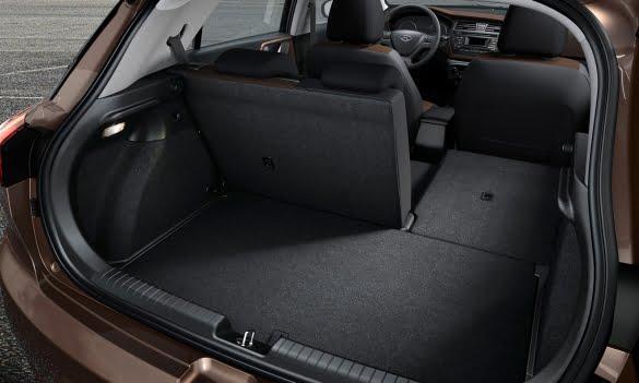 portbagaj Hyundai i20