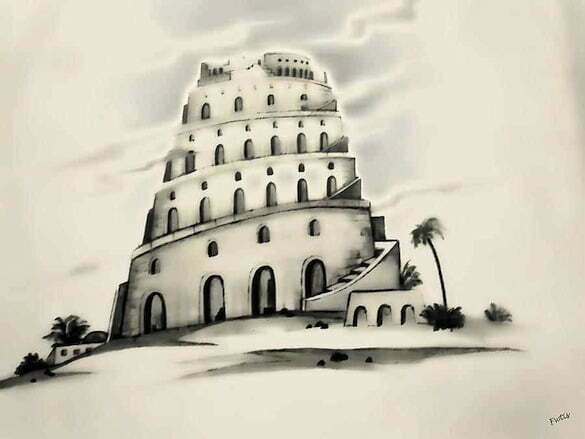 the-tower-of-babel-fotios-pavlopoulos