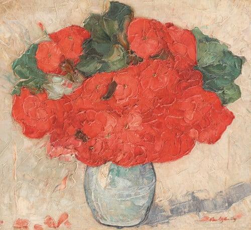 Flori de primavara, Petre Bulgaras