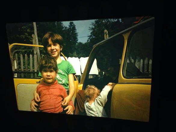 Alexandra, Călina și Victor și Taina în penumbră