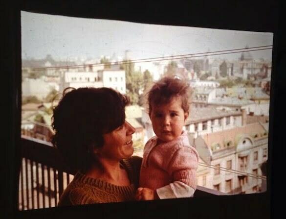Taina cu Călina, pe balconul apartamentului din Apolodor