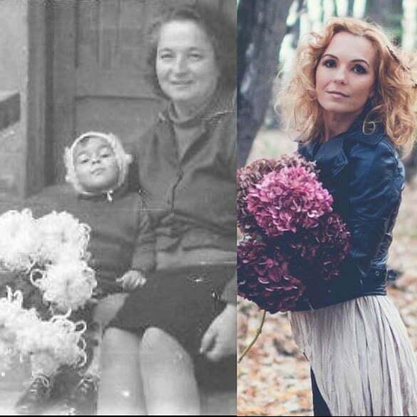 andreea flori bunică