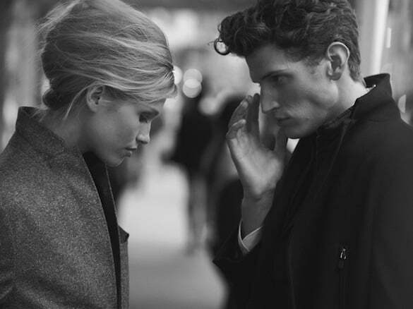 the documentary and a dream andre feulner & hana jirickova peter lindbergh j. lindeberg bi-annual book, fall-winter 2012 34
