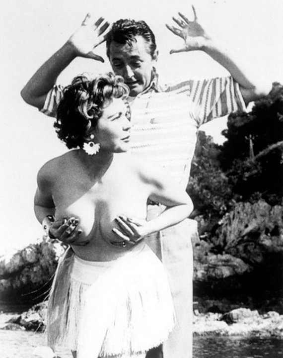 Robert Mitchum, Cannes