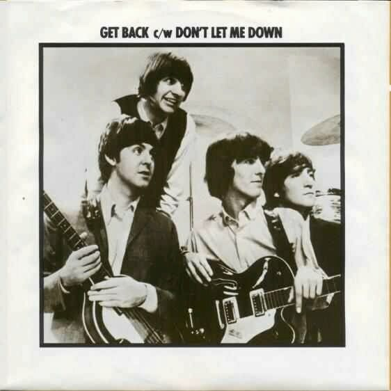 1977 HOL The Beatles The Singles Collection 1962-1970 - ECI - R 5777 - Get Back ⁄ Don't Let Me Down -2