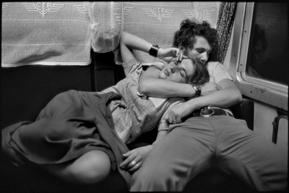 ROMANIA.-In-a-train.-1975