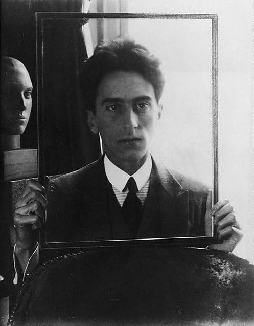 jean cocteau by man ray