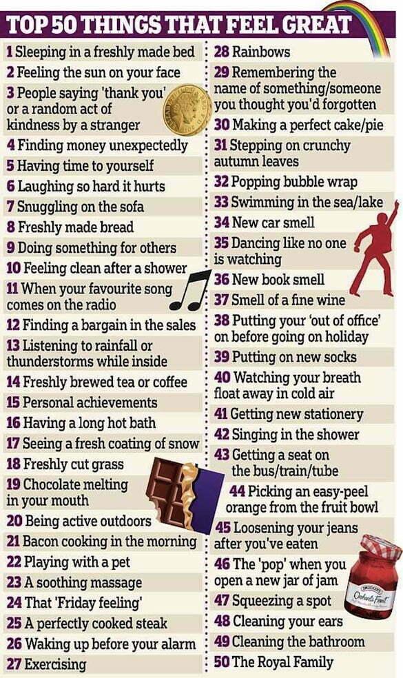listă fericire