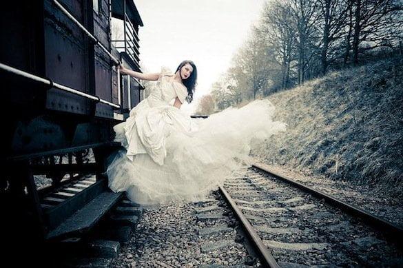 fată tren