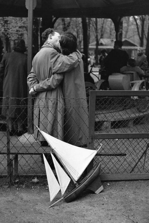 Edouard Boubat Paris, Jardin du Luxembourg, 1956