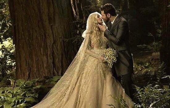 cuplu pădure