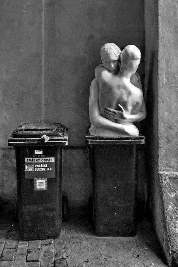 iubire la gunoi