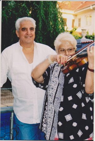 Parintii violonistului Florin Niculescu