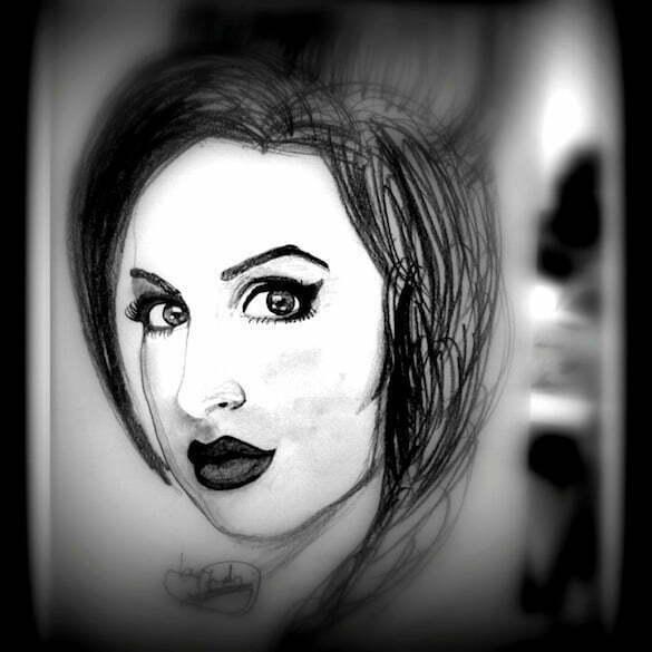 Amy_Winehouse_portret_Judy_Florescu